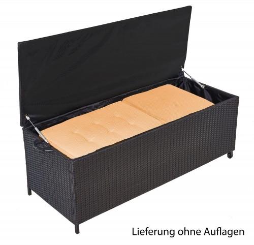 Sehr Auflagenbox Alu Rattan Universal 150x58x50 cm Gartenbox Kissenbox UF08