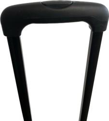 Transport Trolley, Sackkarre, Gepäckträger bis 30 kg mit Teleskopgriff, höhe 92cm, inklusive Spanngurt