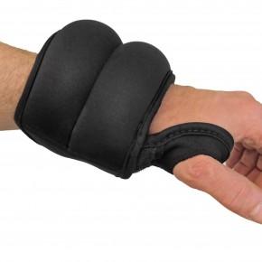 Laufgewichte Gewichtsmanschetten 2 x 1,0 kg, Armgewichte Fitness Arm Hanteln Set