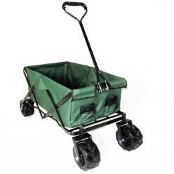Bollerwagen offroad Strandwagen Handwagen Faltwagen Outdoor faltbar grün passend für Reifenbreite: 10cm