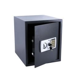 Safe Tresor Dokumententresor mit Elektonik- Zahlenschloss 35x40x40 cm LED Anzeige Stahlbolzen