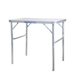 Klapptisch Campingtisch Aluminium 75x55cm Gartentisch Beistelltisch Falttisch höhenverstellbar und faltbar