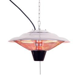 Deckenheizstrahler Zeltheizung Heizstrahler Heizpilz Terassenstrahler Wärmestrahler Infrarot für innen und aussen geignet (IP34) Leistung 1500 Watt
